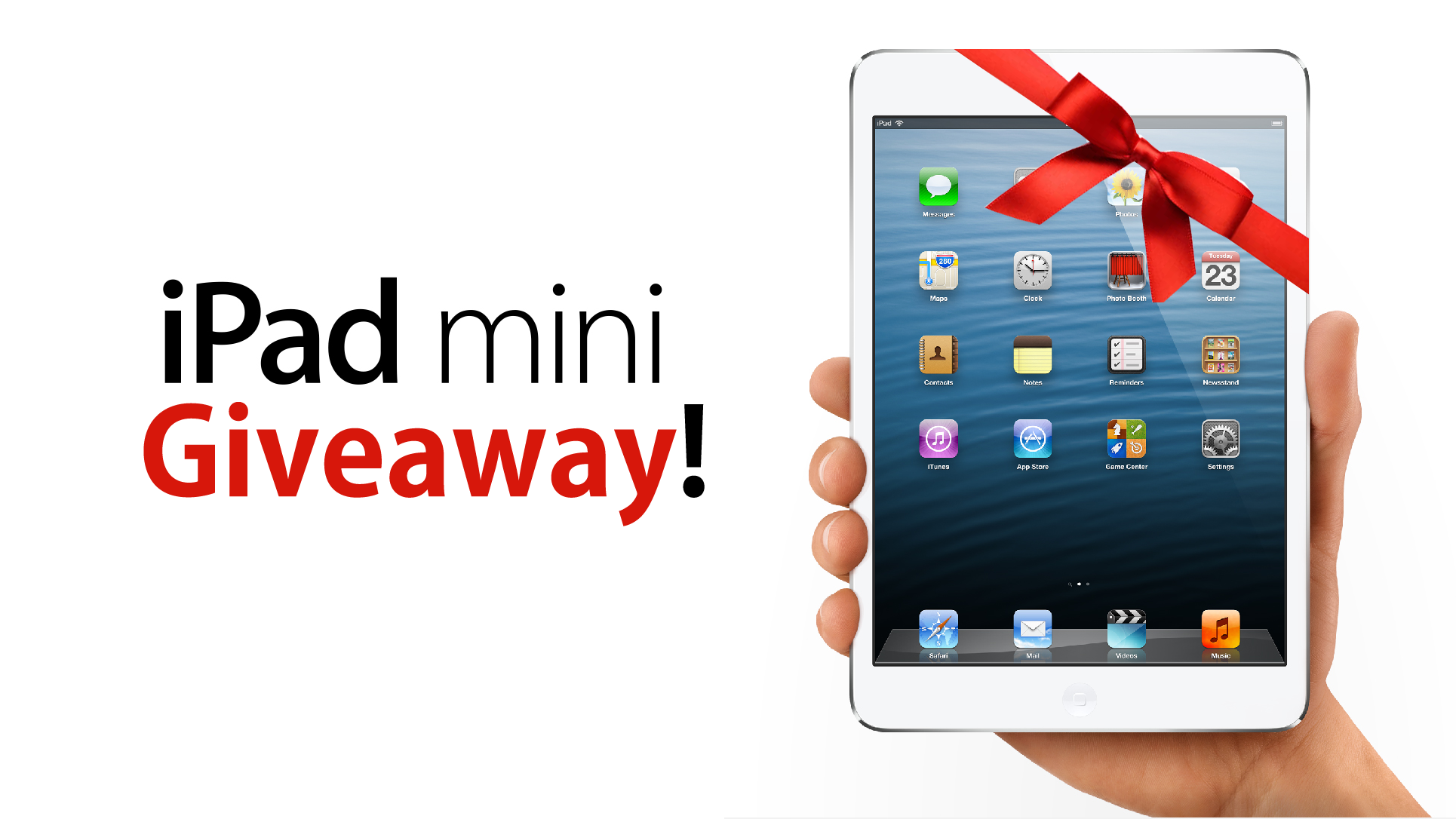 Ipad sweepstakes giveaways 2018