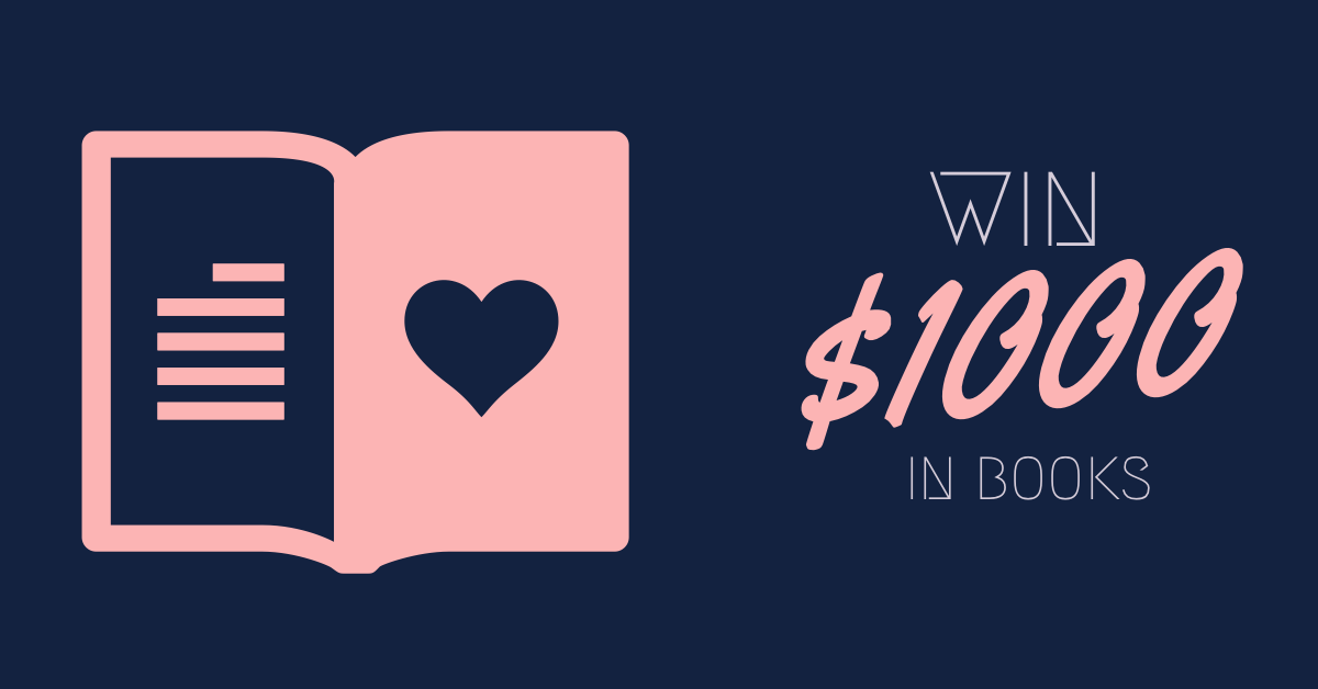 $1000 Book Lover's GiveAway